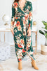 Back To Beauty Hunter Green Surplice Maxi Dress