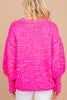bright confetti knit sweater