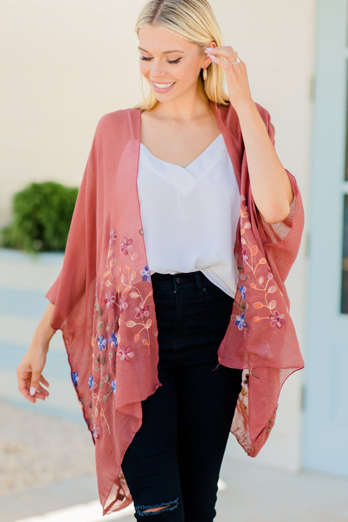 short sleeves, light fabric, colorful floral embroidery, floral kimono, embroidered kimono, floral embroidered kimono, boho, boho kimono