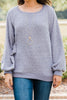 Handle It Lavender Purple Pullover