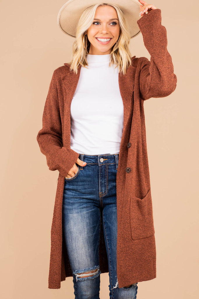 long line casual coat