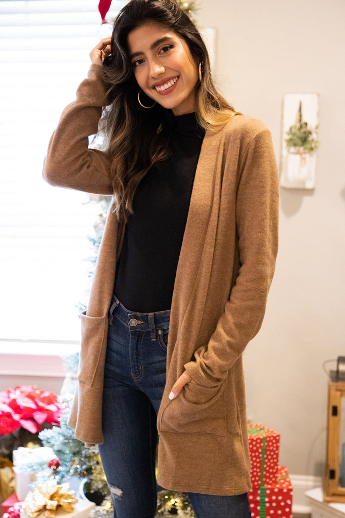 long sleeve classic cardigan