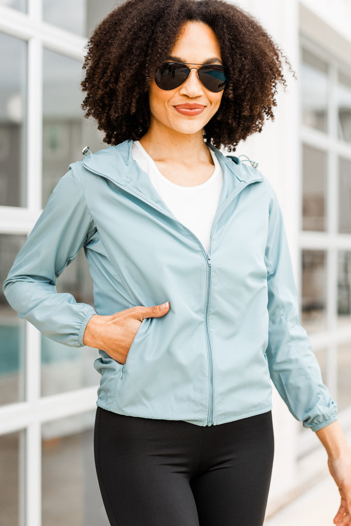 athletic solid jacket
