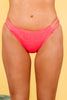 ruched strappy bikini bottoms