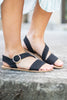 Sunny Summer Days Sandals, Black