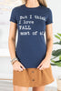 top, short sleeve top, graphic tee, short sleeve graphic tee, navy short sleeve top, navy short sleeve graphic tee, blue short sleeve top, blue short sleeve graphic tee, fitted tee, fitted graphic tee, navy blue fitted graphic tee, navy blue short sleeve fitted graphic tee,
