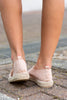 On The Road Espadrille Flats, Blush