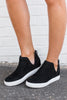 fall, sneakers, chic, sass, rubber soles, durable, black, black sneakers