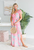 Stick By You Maxi Dress, Pink-Multi