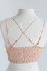 Return To Love Blush Pink Lace Bralette