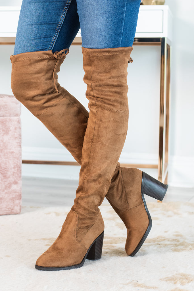 over the knee boots, brown over the knee boots, brown boots, closed toe boots, brown closed toe boots, brown closed toe over the knee boots,
