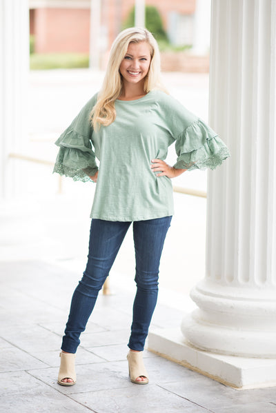 All Is Bell Top, Dusty Mint