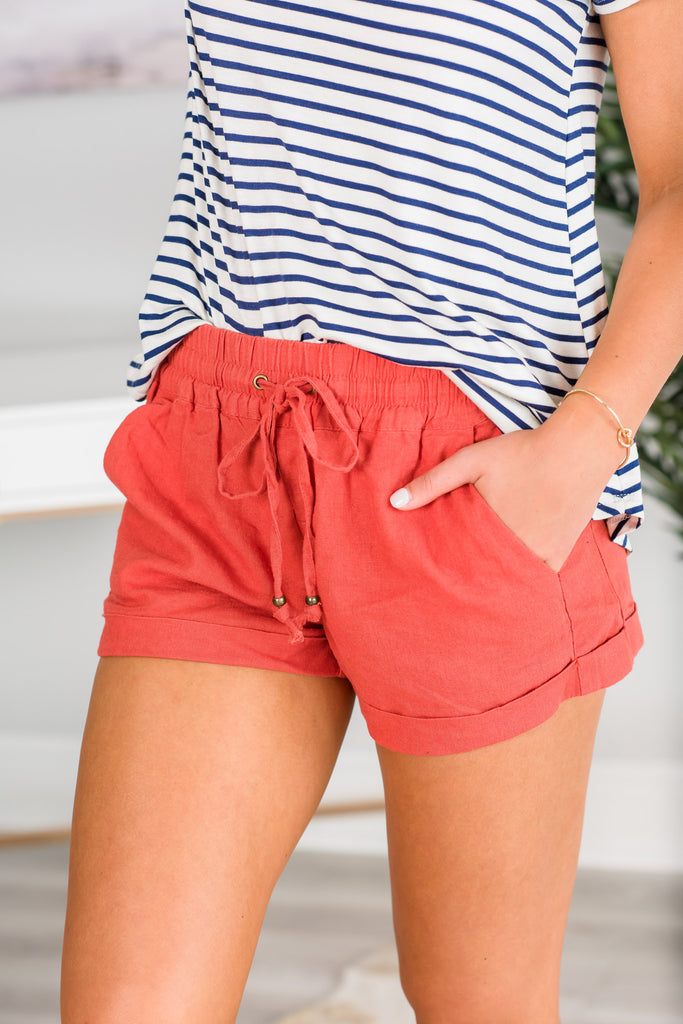 Into My Heart Shorts, Rust