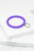 Here For The Fun Purple Bracelet Key Ring