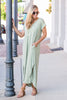This Is No Dream Maxi Dress, Dark Sage