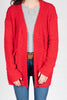 All In My Head Cardigan, Red