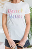 Beach Bum Tee, White