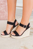 shoes, wedges, solid, solid wedges, black, black wedges, black, brown, summer, summer wedges, fall, fall wedges, work, party, cocktail party, classy, classy wedges