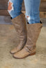 shoes, boots, fall, winter, solid, shopping, everyday, zipper, neutral, brown, trendy