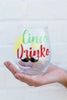 Cinco de Drinko Wine Glass