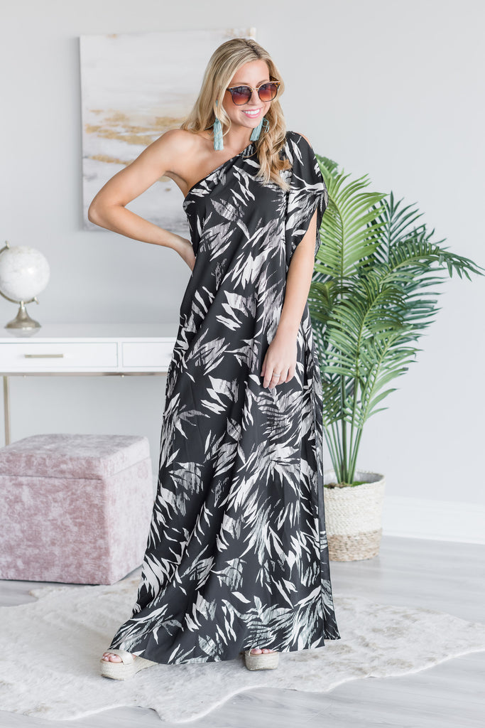 Destined To Be Great Maxi Dress, Black