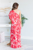 Destined To Be Great Maxi Dress, Red