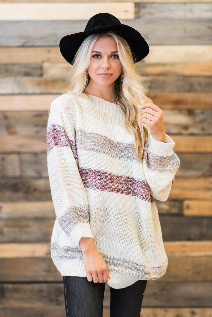 Feeling Electric Sweater, Ivory