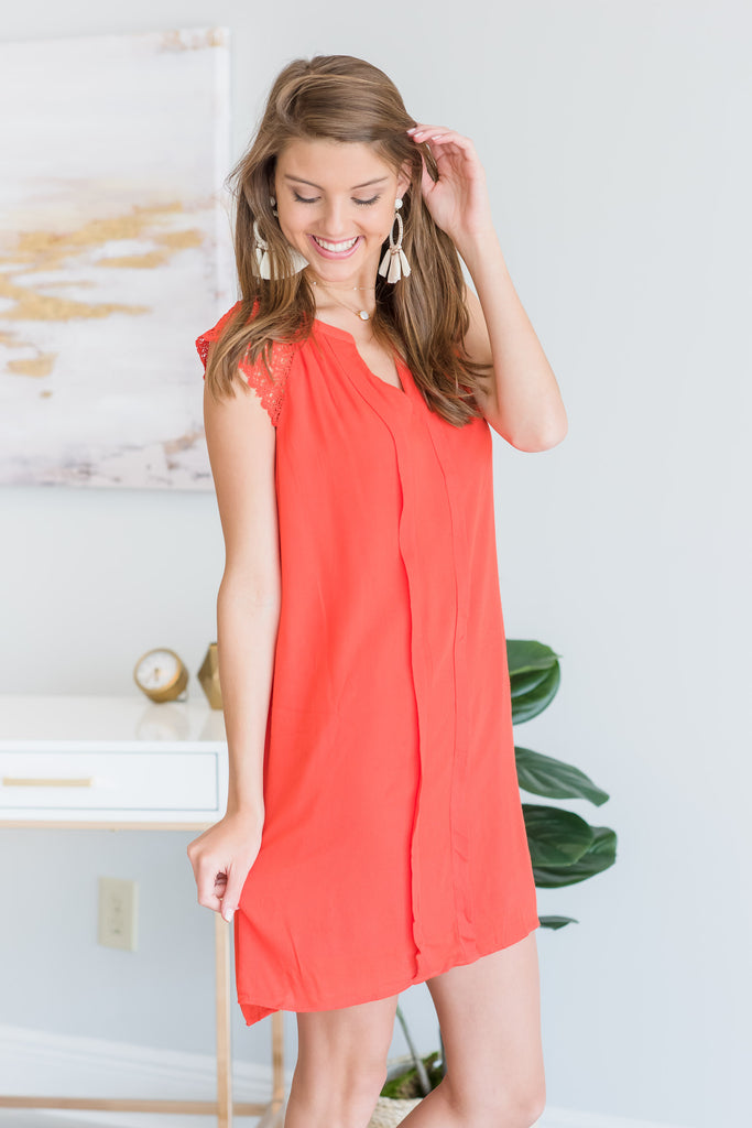 Feeling Ambitious Dress, Orange