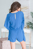 Feeling So Fun Romper, Persian Blue
