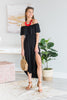 Gotta Be You Midi Dress, Black