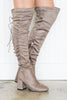 Height Of Sass Boots, Taupe