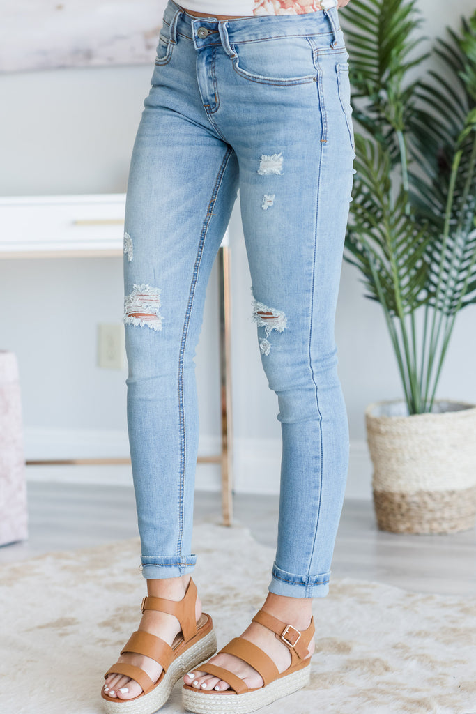 In The Groove Jeans, Light Wash