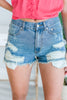 In The Summer Sun Shorts, Medium Wash