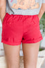 Into My Heart Shorts, Red