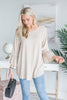 I Want It All Top, Taupe