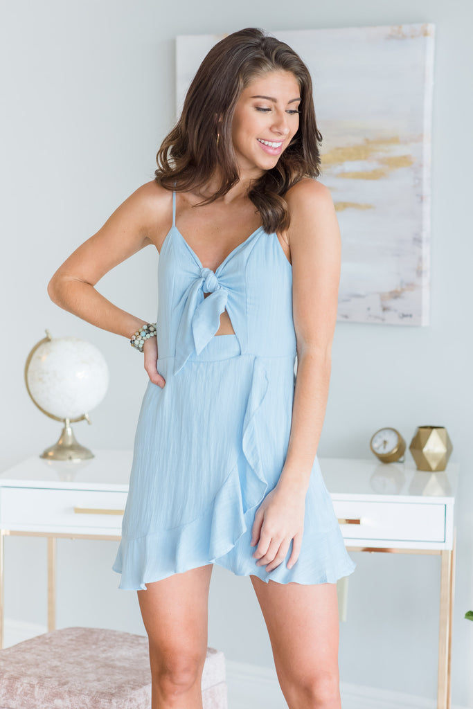 Just Picture It Dress, Chambray