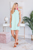 Just So Perfect Dress, Mint