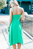 Let's Have Fun Midi Dress, Kelly Green