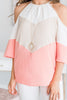 Live and Lovely Top, Blush