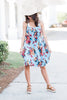 Living For Fun Dress, Faded Blue