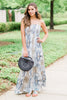 Never Underestimated Maxi Dress, Cream-Navy