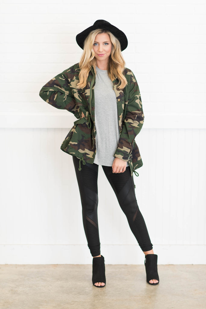 d9a74c3893788 On The Hunt Jacket, Olive jacket, coat, winter, fall, camo, camouflage,  green, army, ...
