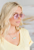 Quay Australia: Just Sayin, Gold-Pink Mirror Lenses
