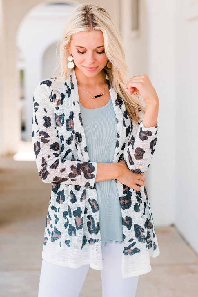 See The Real You Cardigan, Ivory