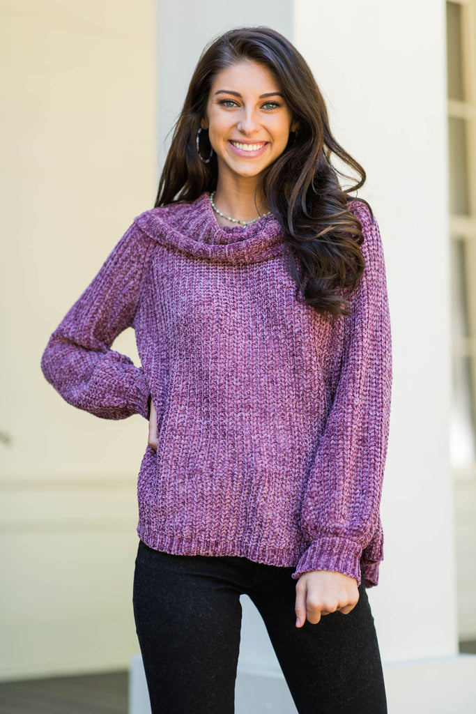 Speaking Of Fab Sweater, Mauve