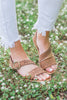 Sunny Summer Days Sandals, Camel