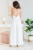 The Change Up Jumpsuit, White-Black