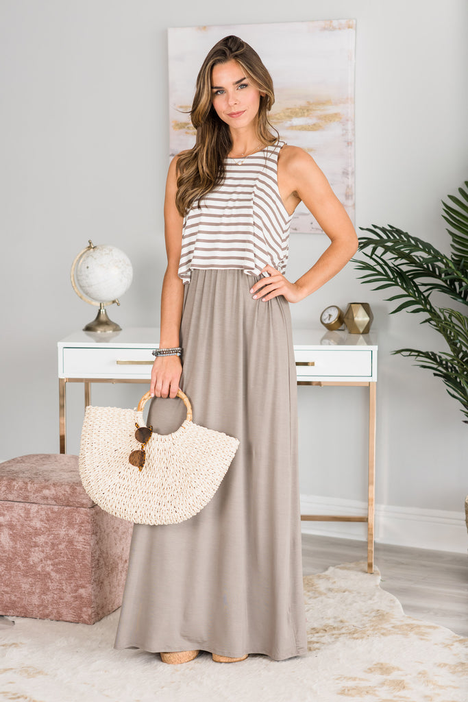 The Fun Never Stops Maxi Dress, Coco