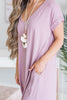 This Is No Dream Maxi Dress, Lavender