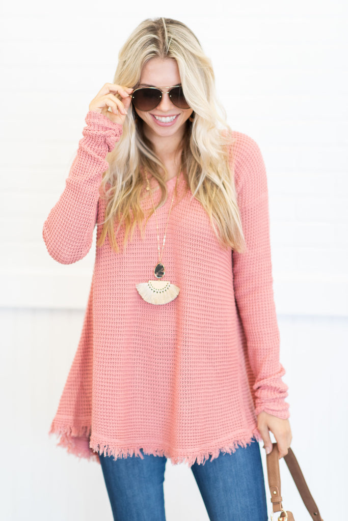 Too Irresistible Sweater, Indian Pink